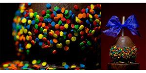 ChocolateCandyAppleRainbowDots